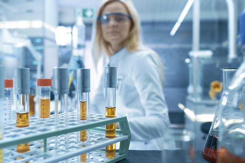 Die 3 Gläser Probe dient zur Bestimmung einer Prostatitis