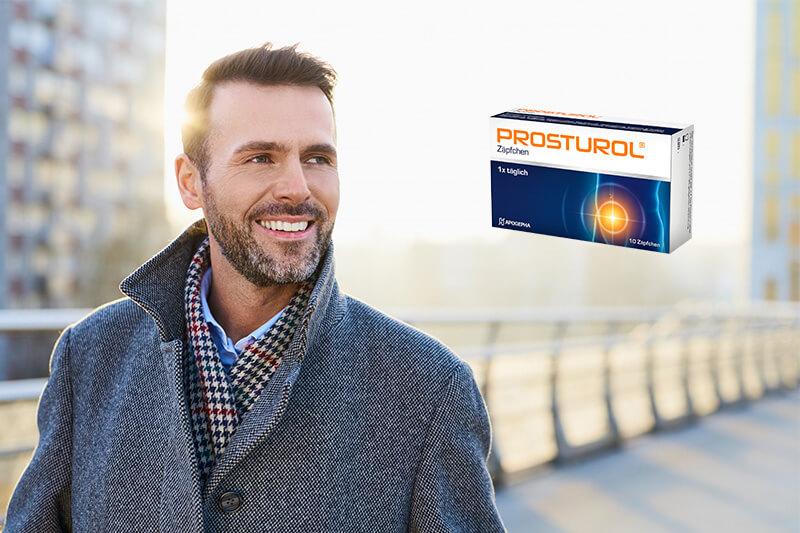 Packshot von Prosturol Zäpfchen bei Prostata-Beschwerden