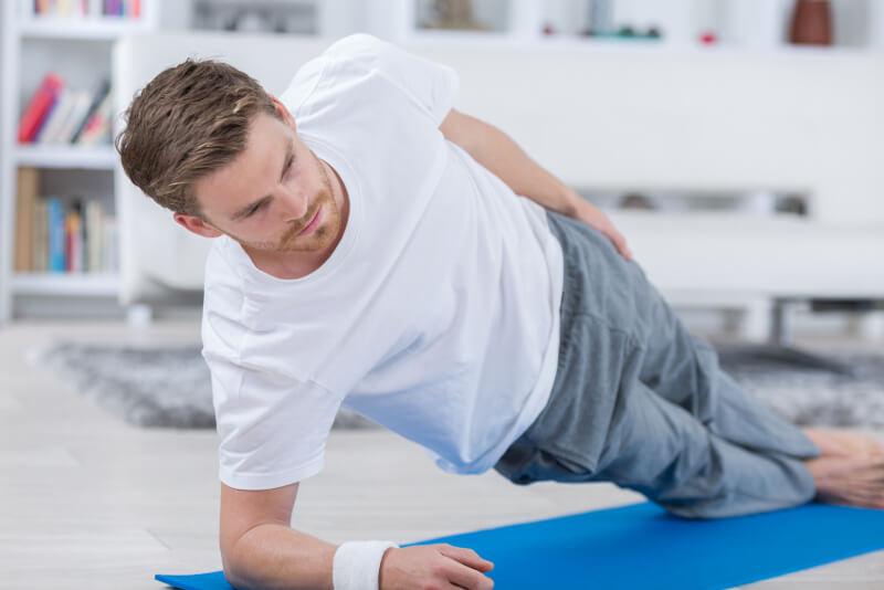 beckenboden trainieren übungen mann