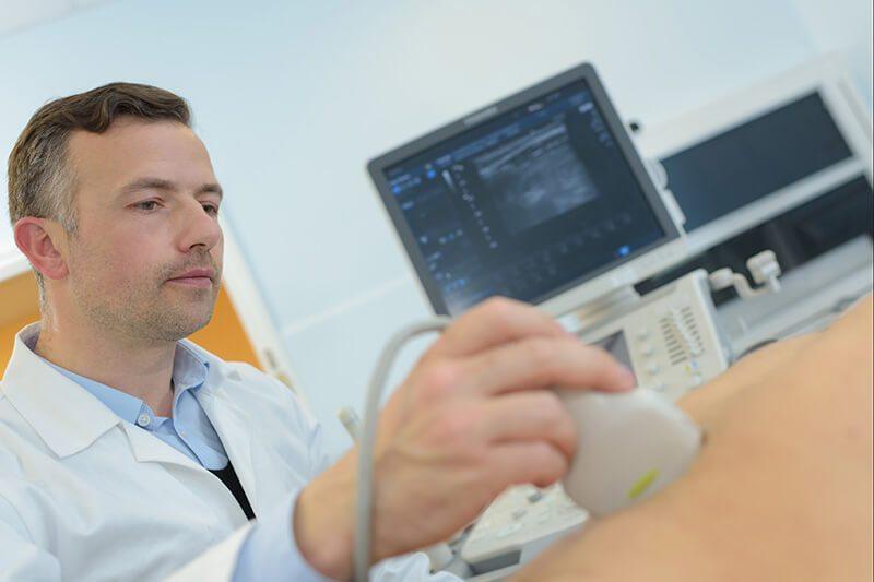 Der Ultraschall ist unter Umständen Teil der Prostata-Untersuchung